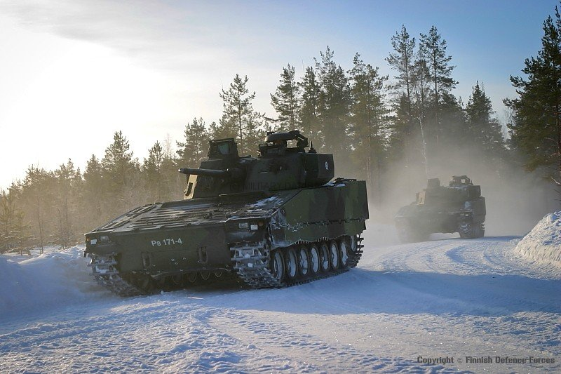 CV9035 © Finnish Defence Forces