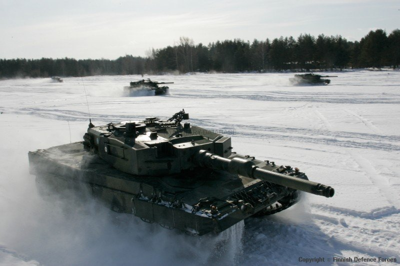 Leopard 2 © Finnish Defence Forces
