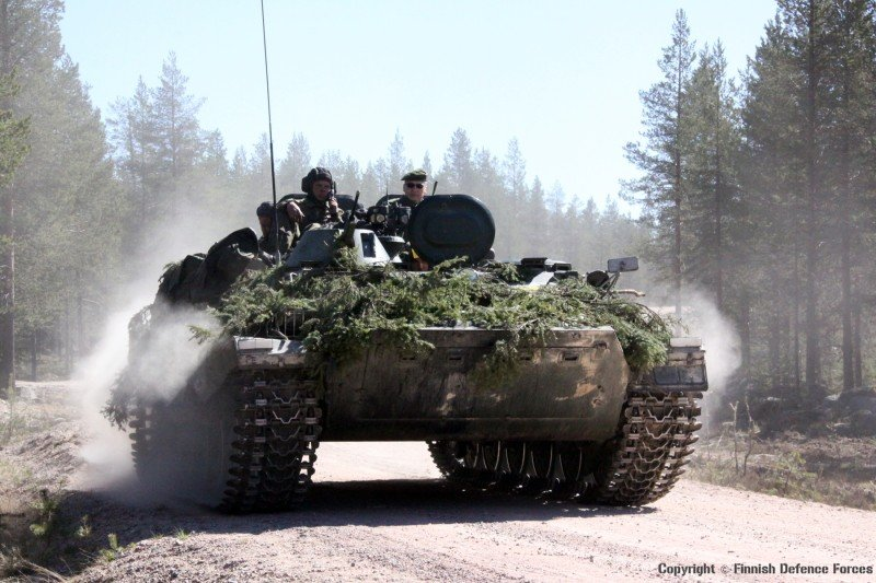 Exercise TROMBI 2013 © Finnish Defence Forces