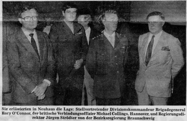 1985 Quarter Final - Zeitungsartikel Täglicher Anzeiger Holzminden