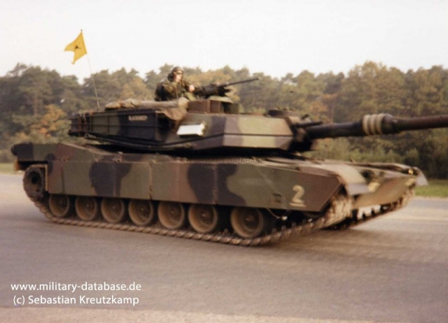 1990 - 2nd Bn 66th Armor Reg in Bergen