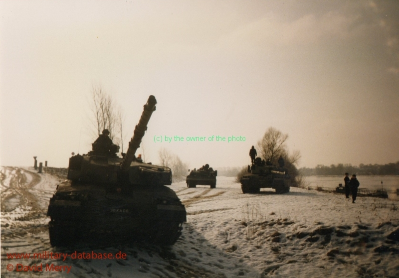 German M3 Trials with 2RTR