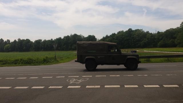 Fahrzeuge der RAF am 08.06.2016 in Sennelager